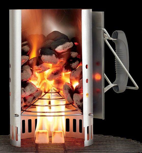 cheminée allumage weber rapidfire