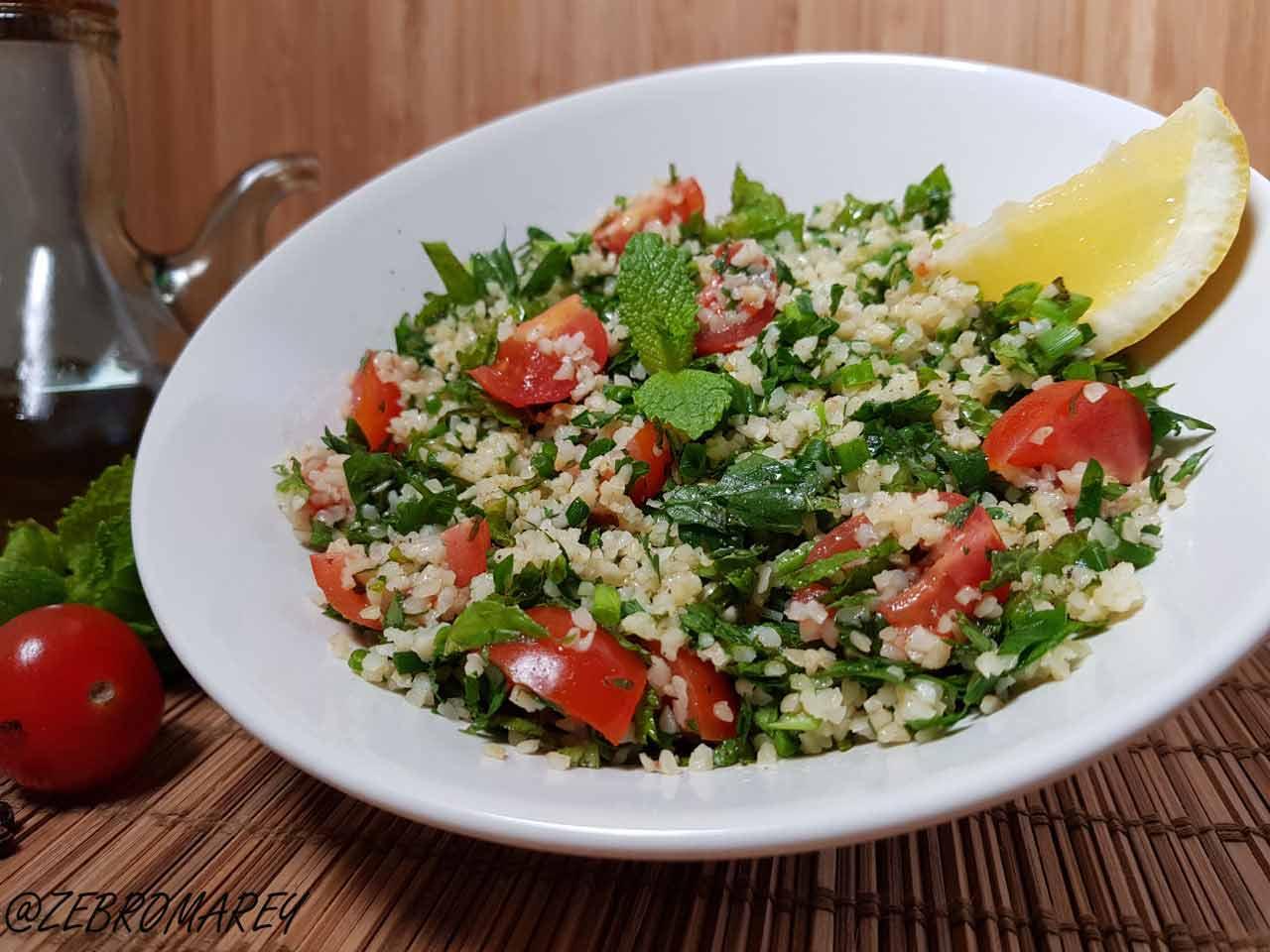 tabulé-libanais- salade été barbecue