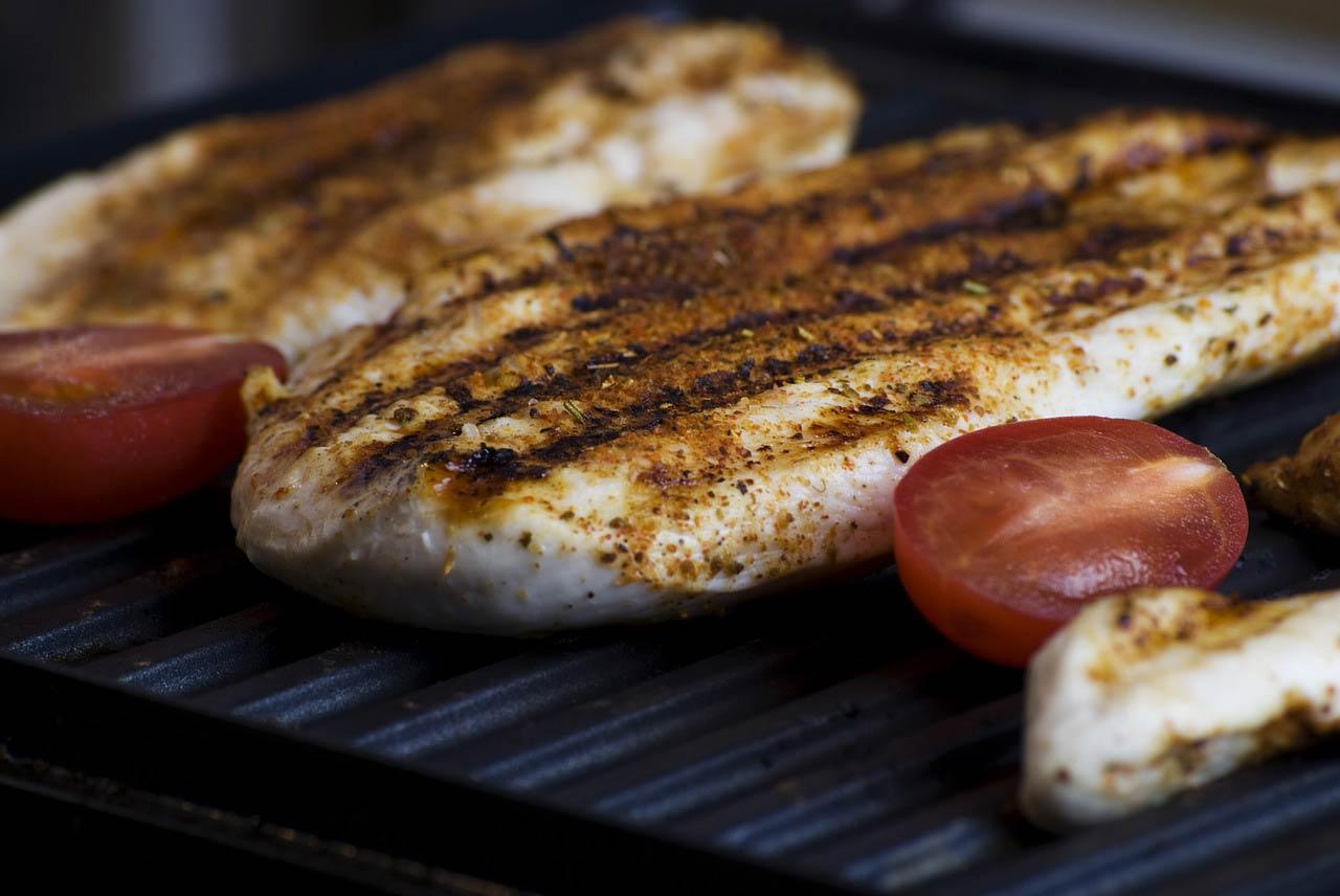 viande blanche poulet barbecue