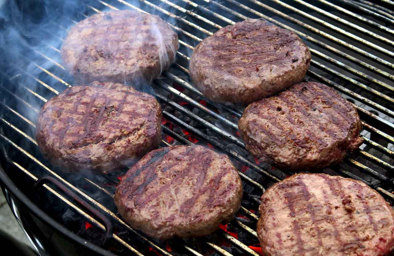 astuces burger barbecue